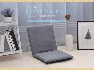 Silla de algodón de piso plegable portátil, asiento de sofá relajante y ajustable, sillón de cojín, silla de juego cómoda, sillón, silla creativa