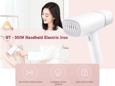 Vaporizador de ropa de mano inteligente 2 en 1, plancha eléctrica de vapor portátil para ropa, panel de calentamiento secundario, vapor inteligente, ángulo de inclinación de 8 grados, para viajes