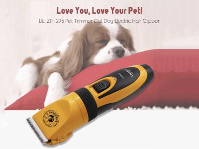 Cortapelos profesional para mascotas. ¡Deja que este cepillo para mascotas te ayude! ¡Sin rayones! ¡Sin dolor! Mortero de alta calidad. Hoja chapada en titanio. Longitud de corte de pelo ajustable