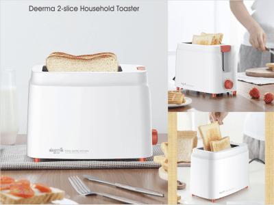 Tostadora 2 rebanadas, 9 potencias, tostadora pequeña retro, cancelación, función de descongelación, tostadora compacta con ranura extra ancha para gofres, pan