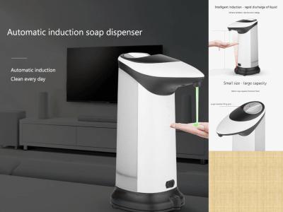Dispensador automático de champú y jabón por inducción. Limpiar todos los días. Descarga rápida de líquido. Capacidad de 280 ml, uso duradero