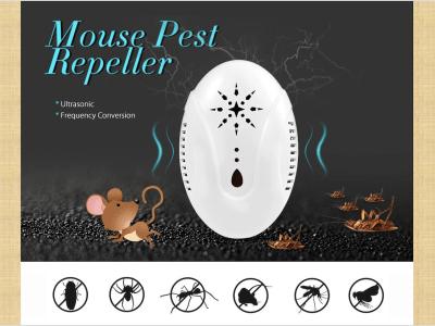 Repelente de plagas ultrasónico electrónico, plug-in, mosquitos, cucarachas, ratones. Inofensivo para los cuerpos humanos y las mascotas. No tóxico, inodoro, ecológico