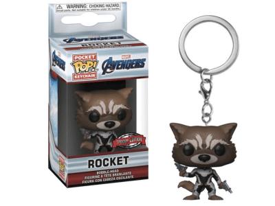 POP Llavero, Marvel Avengers, Rocket