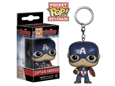 POP Llavero, Marvel, Avengers, Captain America