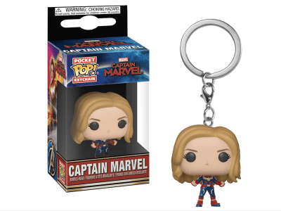 POP Llavero, Marvel, Captain Marvel