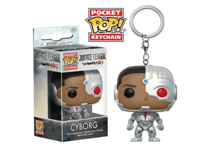 POP Llavero, Super Heroes DC, Cyborg