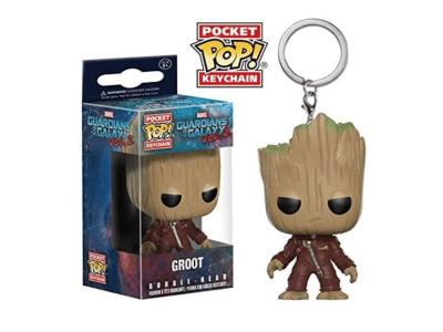POP Llavero, Marvel, Guardianes de la Galaxia, Dancing Groot