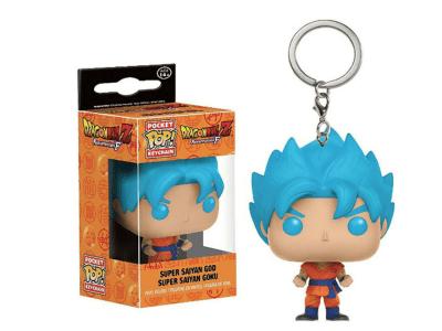 POP Llavero, Dragon Ball Z, Super Saiyan God - Super Saiyan Goku