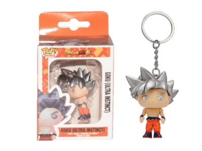 POP Llavero, Dragon Ball Z, Goku (Ultra Instinct)