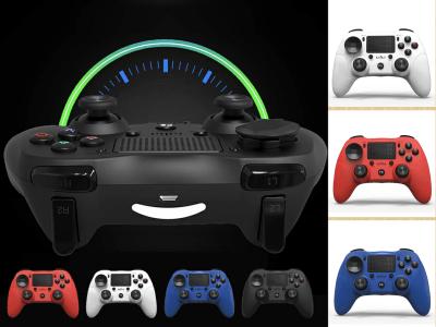 Mando PS4 Bluetooth Inalámbrico, LED para PS4, SLIM, PRO, PC Windows, Móviles. Gatillo de Precisión, Vibración Doble motor, 4 Colores Disponibles, Tiempo de Reproducción 6 horas, Batería 600mah