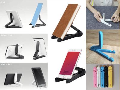 Soporte Universal para Tablet, Soporte Ajustable para Tablet, Soporte Plegable Portátil para iPad, iPad 2, Samsung Galaxy Tab, Nintendo Switch, Playbook, Galaxy S8, etc., 7 Colores Disponibles