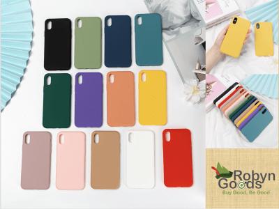 Funda iPhone Colores Sólidos, Silicona TPU, Fácil de poner un quitar, Protección Golpes, Elija su modelo de iPhone, Sin problemas de amarilleo, Duradero, Resistente al Desgaste, Antihuellas