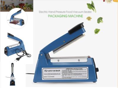 Máquina selladora de alimentos manual a presión eléctrica. práctico y conveniente. operación de un botón, fácil de operar. Tamaño adecuado, estructura sólida, bajo consumo de energía