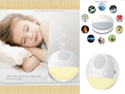 Instrumento del sueño infantil, contra el insomnio, hipnotizando la música onírica. Mejora física. Ligero para ayudar a dormir. Operación clave. Luz tenue. Sincronización inteligente
