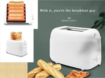 Tostadora Emergente Extraíble, Máquina para hacer tostadas de Pan, Cumple sus Requisitos Diarios, Tiempo Cocción Ajustable, Fácil Limpiar, Atractivo Estético, Con él, Usted es el Tipo del Desayuno