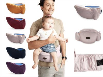 Silla Descanso Cintura Antideslizante Transpirable para Bebé. Portabebés de Seguridad. Ergonómico. Carga 15Kg. Confeccionado tela de algodón. Diseño antideslizante, garantiza la seguridad del bebé