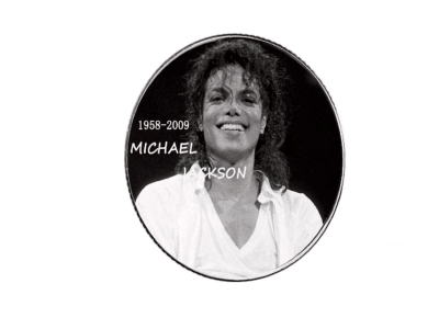 Collector's Coin High Craftsmanship of the POP idol, Michael Jackson