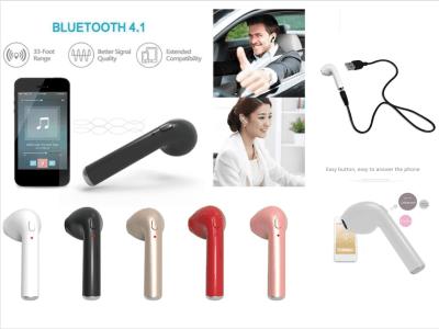 Auricular Inalámbrico I7S TWS, Bluetooth 4.2, Impermeable IPX5, Cancelación Ruido, Tiempo Uso 2,5-3 horas, Estéreo, Compatible Android y IOS