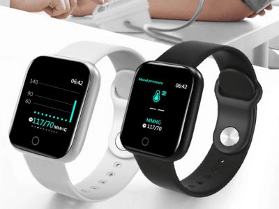 Reloj Inteligente con Monitor de Frecuencia Cardíaca ECG, Presión Arterial, Impermeable IP68, Rastreador de Ejercicios, Smartwatch compatible Android y IOS