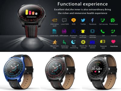 Reloj Inteligente para Hombres, Controle su Actividad Deportiva, Compatible Android y IOS, Cámara 3MP, Tarjeta SIM, Impermeable IP67, Monitor Presión Arterial, Frecuencia Cardíaca, Fitness, MP3, Radio