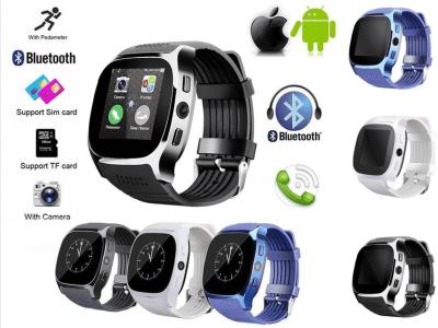 Reloj Elegante Inteligente, Compatible Android y IOS, Bluetooth, Pantalla Táctil, Llamadas Manos Libres, Tarjeta SIM, Cámara 3MP, Email, MP3, Mensajes, Alarma