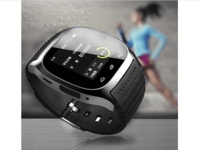 Reloj Inteligente Pantalla Táctil Color, Bluetooth, Compatible Android y IOS, Ideal para Hombres, Email, MP3, Llamadas Manos Libres, Respuesta SMS