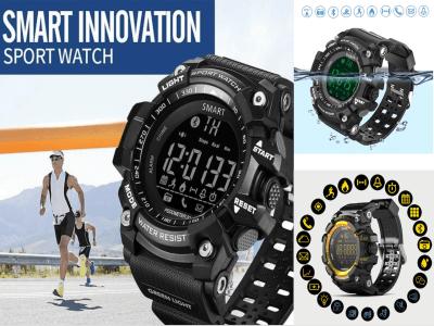 Reloj Inteligente ideal para Hombres y Mujeres, Control Actividad Deportiva, Resistente al Agua IP68, 50 metros, Pantalla OLED, Cámara 3MP, WhatsApp, Email, MP3, compatible Android y IOS, Bluetooth