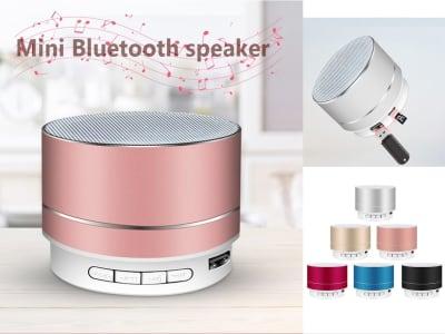 Altavoz Bluetooth Inalámbrico Portátil con Micrófono incorporado, Llamada manos libres, Línea AUX, Tarjeta TF, Sonido HD y graves para iPhone, iPad, Android y más, Karaoke, wifi, USB
