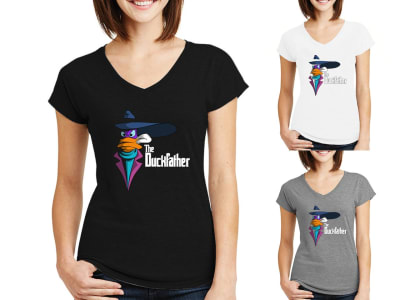 Camiseta Mujer The Duckfather