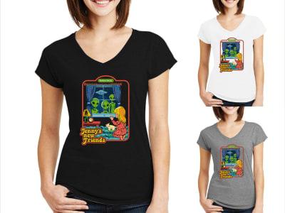 Camiseta Mujer Jenny's New Friends