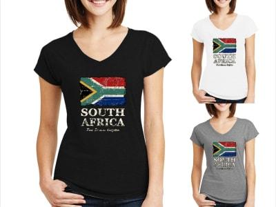 Camiseta Mujer Sudáfrica