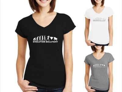 Camiseta Mujer Evolución del Torero
