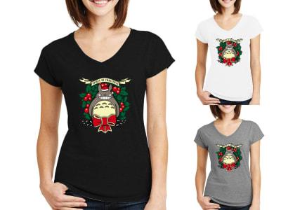 Camiseta Mujer Espíritu de Navidad