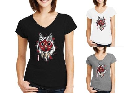 Camiseta Mujer Espíritu Lobo