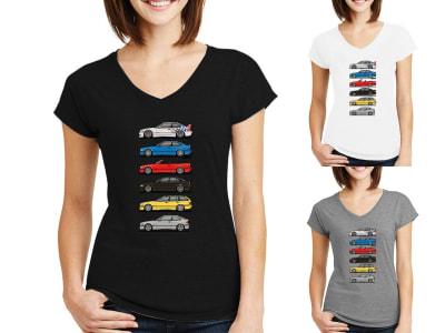 Camiseta Mujer BMW E36