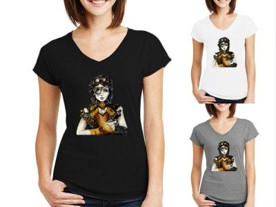 Camiseta Mujer Mujer Steampunk