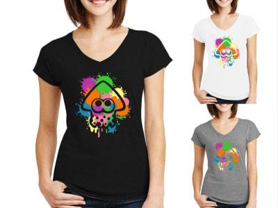 Camiseta Mujer Pulpo Multicolor