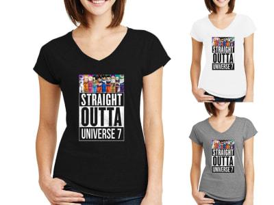 Camiseta Mujer Darón Ball Z Directamente del Universo