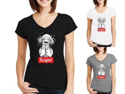 Camiseta Mujer Hero Academia Sugoi