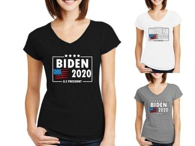 Camiseta Mujer Joe Biden presidente 2020