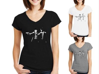 Camiseta Mujer Supernatural