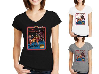 Camiseta Mujer Hobbies & Games