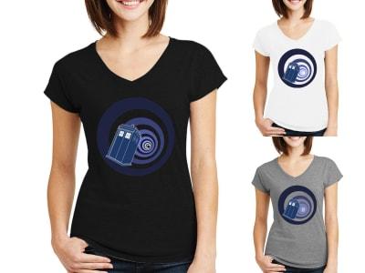 Camiseta Mujer Vortex Doctor Who