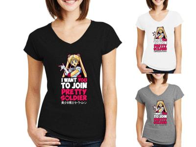 Camiseta Mujer Pretty Soldier Sailor Moon
