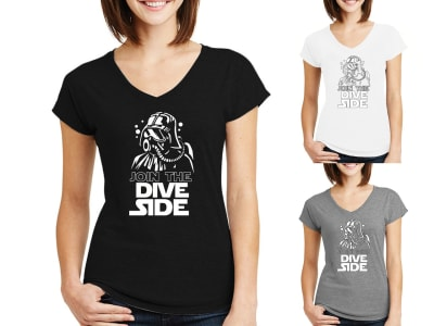 Camiseta Mujer Join the Dive Dark
