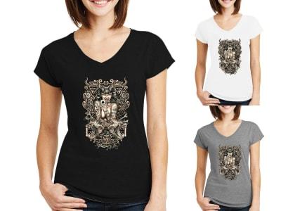 Camiseta Mujer Evil Girl
