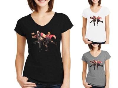 Camiseta Mujer Team 2 Gamer