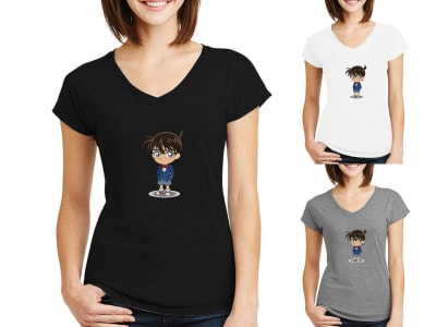 Camiseta Mujer Detective Conan
