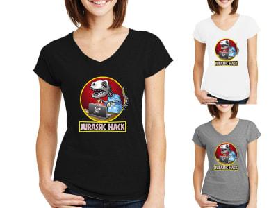 Camiseta Mujer Jurassic hack