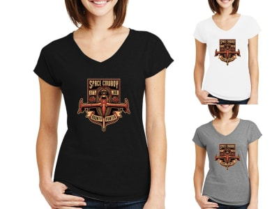 Camiseta Mujer Space Cowboy